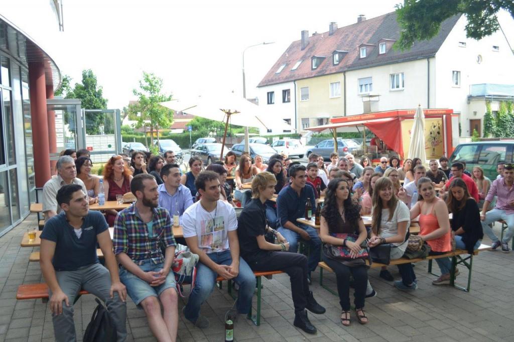 Herzlich willkommen in Nürnberg - Begrüßungsfeier beim AAU e.V.