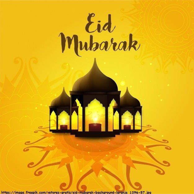 eid-mubarak-background-laranja_1396-57